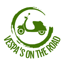 Vespa's on the road